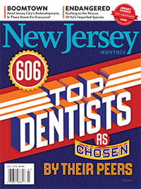 New Jersey Monthly Magazine July 2016 Top Dentists cover